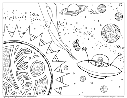 Small Picture Outer Space Coloring Pages Inspirations Throughout Outerspace