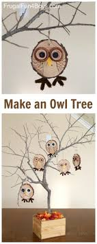 Make an Owl Tree with Wood Slice Owl Ornaments - Fun Fall Craft! - Frugal  Fun For Boys