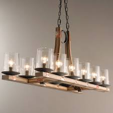 full size of lighting marvelous wood and metal chandelier 0 engaging 5 pine beam island jpg