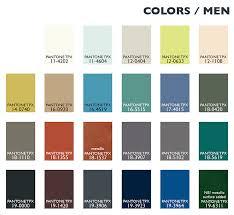 Color Usage Menswear