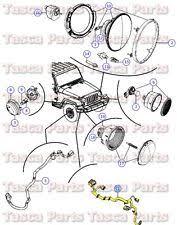 jeep wrangler headlight wiring harness oem mopar headlight wiring harness 2013 jeep wrangler 3 6l w remote start system