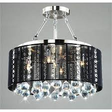 large size of lighting dazzling black chandelier with crystals 8 lamp shade uk mini shades diy