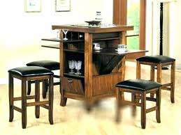 bar height table set pub table and chairs glass bar height kitchen table for