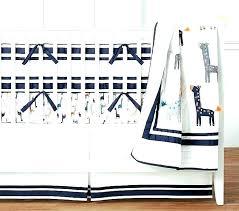 uptown giraffe bedding crib set navy quilt baby solid blue comforter queen