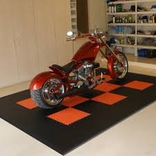 edge harley motorcycle bike mat