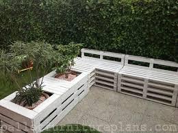 15 DIY Outdoor Pallet Bench | Pallet Furniture Plans