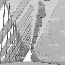modern architectural sketches. Unique Architectural Modern Architecture Architectural Drawing Of Abstract Interior  Royaltyfree Modern Architecture Architectural On Sketches I
