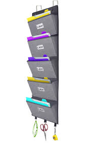Hang The Charts On The Wall Details About Over The Door File Organizer Hanging Wall Mounted Storage Holder Pocket Chart Fo