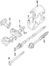 parts com® toyota pickup steering column components oem parts diagrams 1992 toyota pickup dlx l4 2 4 liter gas steering column components