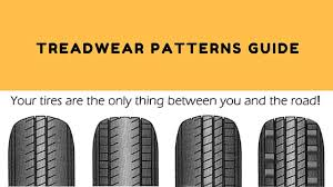 Tire Wear Patterns Impressive Tread Wear Pattern Guide Tyre Tips Tyre Care Finixx