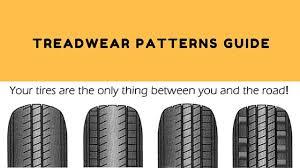 Tire Wear Patterns Impressive Tread Wear Pattern Guide Tyre Tips Tyre Care Finixx