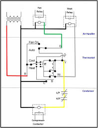 heat pump contactor wiring diagram heat image hvac contactor wiring diagram hvac diy wiring diagrams on heat pump contactor wiring diagram