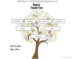 Family Tree Maker Templates Extra Large Family Tree Templates Free Printable Generation