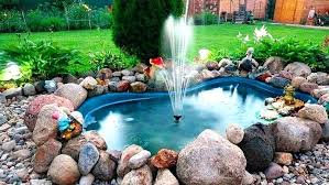 water fountain gardening garden creative water fountain design ideas outdoor fountains galvanized tub plastic ponds home decor ideas images