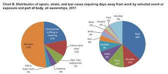 Body Injury Chart Most Common Workplace Injury In America Business Insider