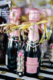 Kate Spade Brunch and Bubbly Bridal Shower, mini champagne favor