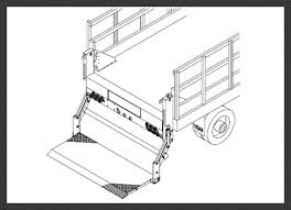 thieman tailgates hydraulic lift gate manufacturer 2078
