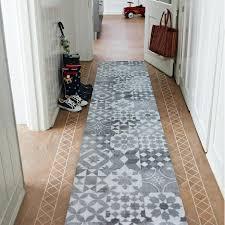 details about runner hallway modern grey maiolica lisboa corridor width 50 100cm rugs carpets