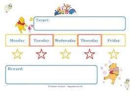 Reward Chart Target Winnie The Pooh Reward Systems