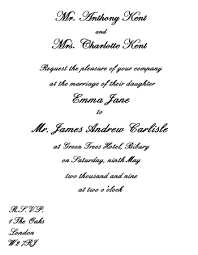 wedding invitation wording etiquette Wedding Invitations From Bride And Groom Not Parents wedding invitation wording Invitation Wording Bride and Groom