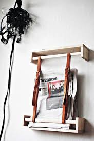 Diy Ikea Spice Newspaper Rack With Two Belts