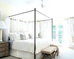 Wrought Iron Canopy Bed Frame Wrought Iron Canopy Bed Cast Frame ...