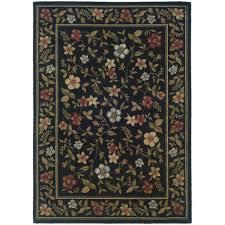 oriental weavers carlee black area rug 3 3 x 5 5