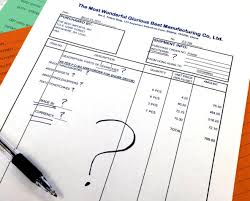 Commercial Invoice The Anatomy Of A Perfect Commercial Invoice 11 5 Point Checklist