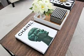Creative Chanel Coffee Table Book Chic Interior Decor Coffee Table With  Chanel Coffee Table Book
