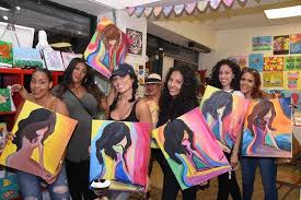 sip and paint parties in brooklyn from 35 per person