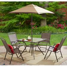 Patio Dining Sets With Umbrella On Sale