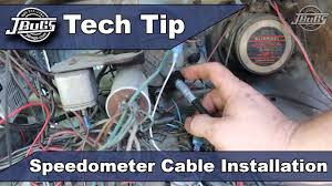 jbugs tech tip speedometer cable installation jbugs tech tip speedometer cable installation