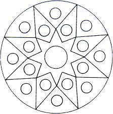 Mandala Vind En Print Bliksemsnel Een Kleurplaat Ukkonl