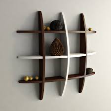 Decorative wall shelving Hooks Decorative Wall Decor Shelves Online India Decornation Floating Globe Wall Shelves For Storage Display Brown White