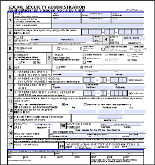 Social Security Form Awesome How To Apply For A Social Security Card In The USA