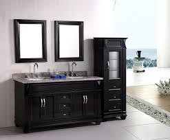 bathroom vanity black. Fabulous Sink Bathroom Vanities Black Cabinet Vanity With Side In Set Double Furniture Attractive Bath Space I