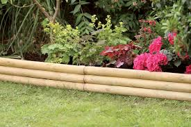 zest garden border fence 1m x 15cm