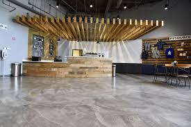 This Bomanite Micro Top Decorative Concrete Flooring Is