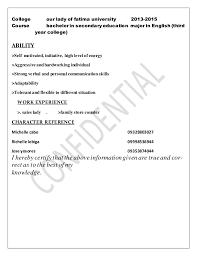Best Of Sample Resume Sales Lady - Tarjetasysobres.co