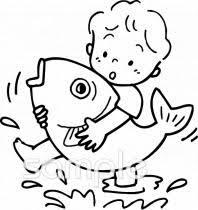 魚のつかみ取りイラストなら小学校幼稚園向け保育園向けのかわいい
