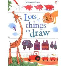usborne book of lots of things to draw by fiona watt activity books for kids at the works