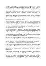 Uic Mba Personal Statement Personal Statement Executive Mba Bob