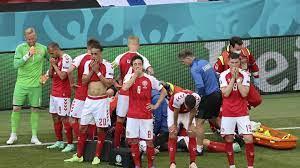 Denmark player Christian Eriksen awake ...