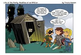 "travis hanson on Twitter: ""Lotp 683 secret passages... #lifeoftheparty #dnd  #dungeonsanddragons #pathfinder #d20 #webcomics #comic #cartoon #comic  #adventure… https://t.co/mNuc7texEq"""