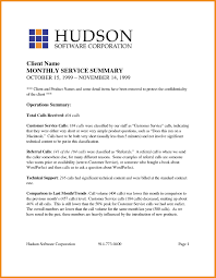Resume With Executive Summary Examples Of Executive Summary Example Executive Summary Report 24