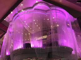 the cosmopolitan of las vegas autograph collection outside the chandelier bar