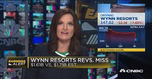 Wynn Resorts Stock Quote Unique Wynn Resorts Sinks Additional 48 Percent After Macau Miss