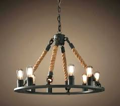 nautical rope chandelier restoration hardware lighting fixtures chandeliers luxury driven by decor na