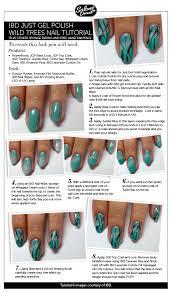 usingibd just gel polish wild trees tutorial