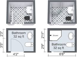 Smallest Bathroom Layout